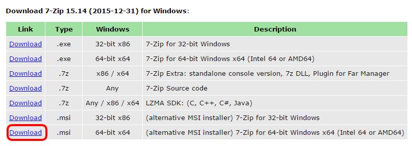 7 zip download for mac